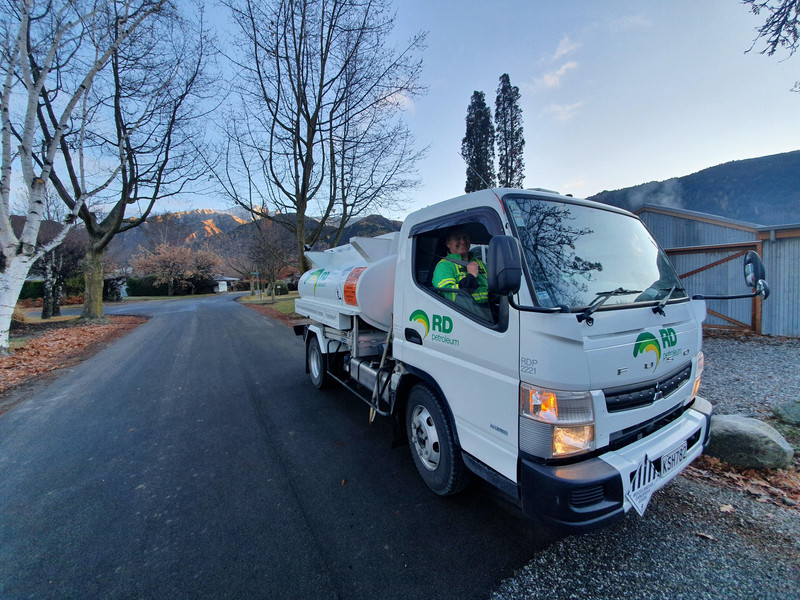 Vic in Central Otago delivering home heating diesel