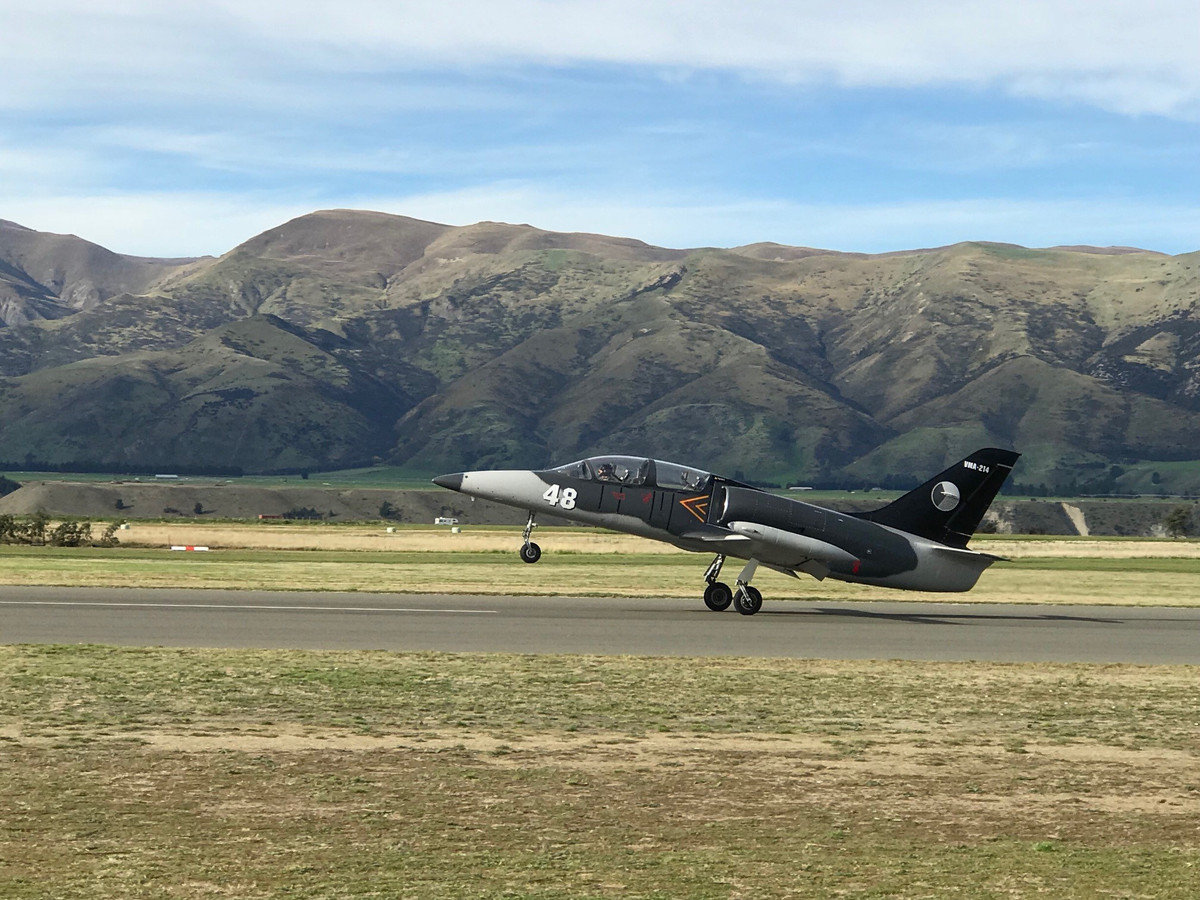 Take off at Warbirds Over Wanaka 2018