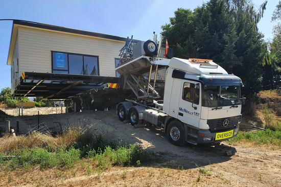 Building relocation across the South Island with McNeilly Heavy Haulage