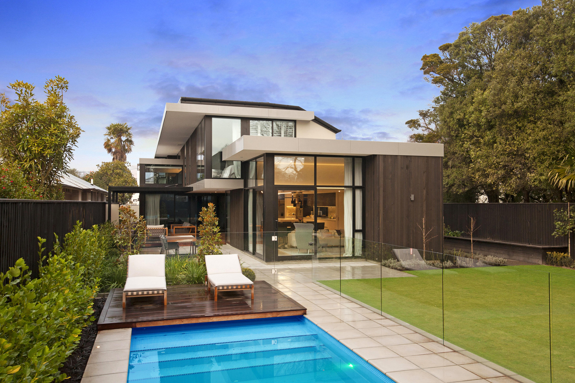 Christchurch city architectural build by O'Neil Architecture
