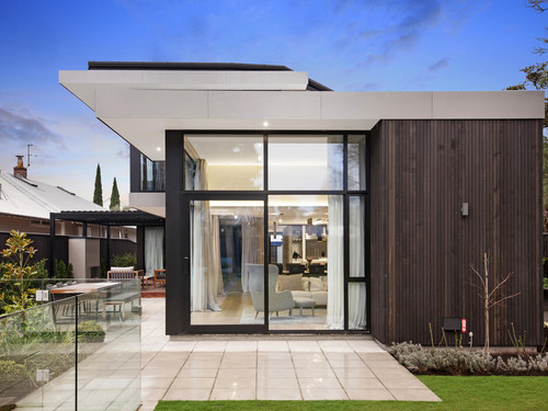 Exterior designed by O'Neil Architecture