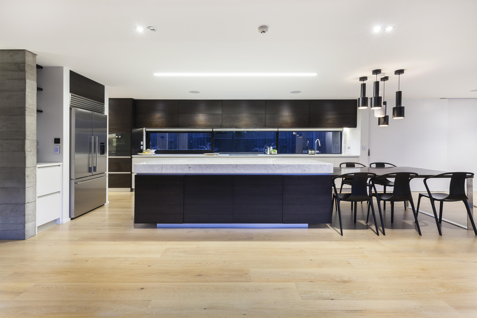 This Canterbury home features an interior designed kitchens