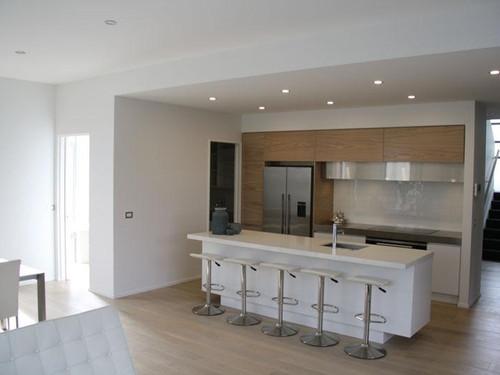 The kitchen design is by designer Ingrid Geldof