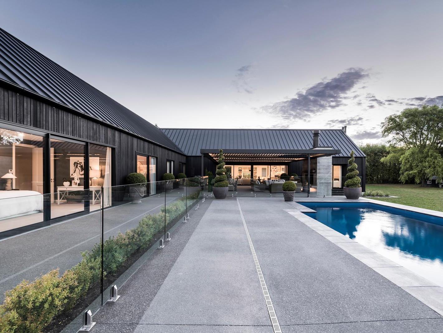Ohoka House exterior designed by O'Neil Architecture