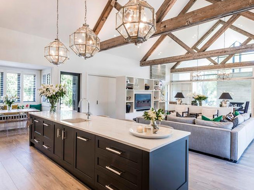 The Ohoka kitchen designed Ohoka Designs.