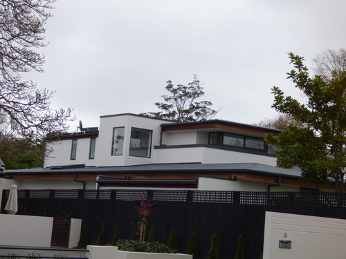 This home is a  complex build consisting of an extensive structural steel formation allowing us to create beautiful cantilevering sections of this house