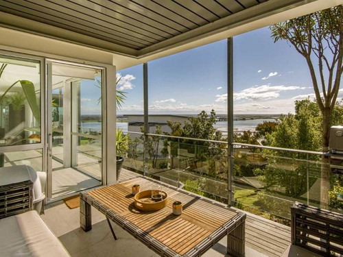 Waterfront views from Inverness Apartment