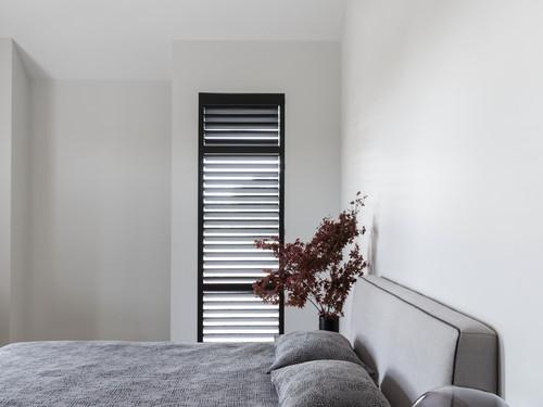 Light minimalist bedroom