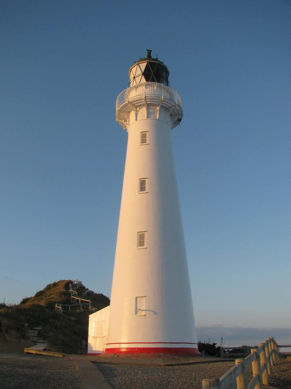 Phone Interview from Castlepoint Lighthouse