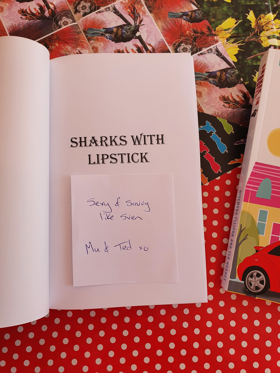Add your own message for the authors to sign