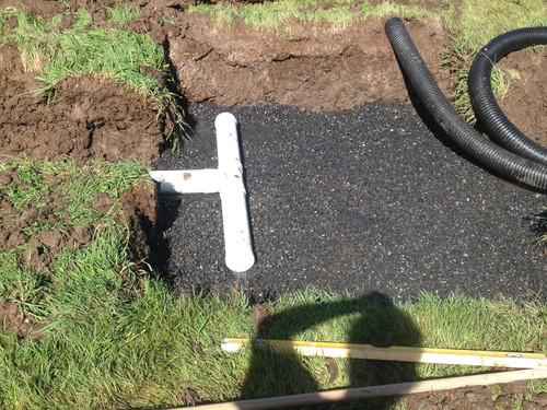 Gravel and pipeline going in for rural irrigation