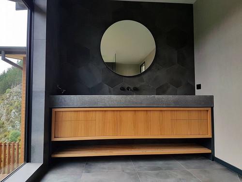 Vanity unit domestic plumbing