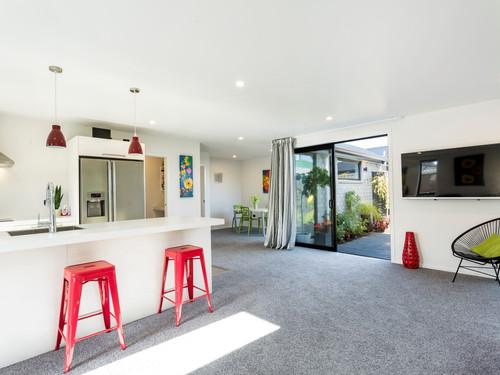 Kitchen indoor outdoor flow