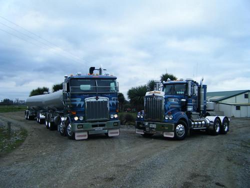 #44 Blue Beast & #37 Blue Tornado