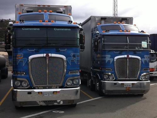 #64 Blue Nomad & #40 Blue Halo