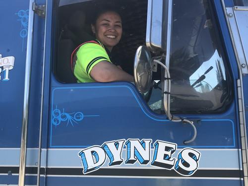 Esther a Dynes Cadet on Dynes 31