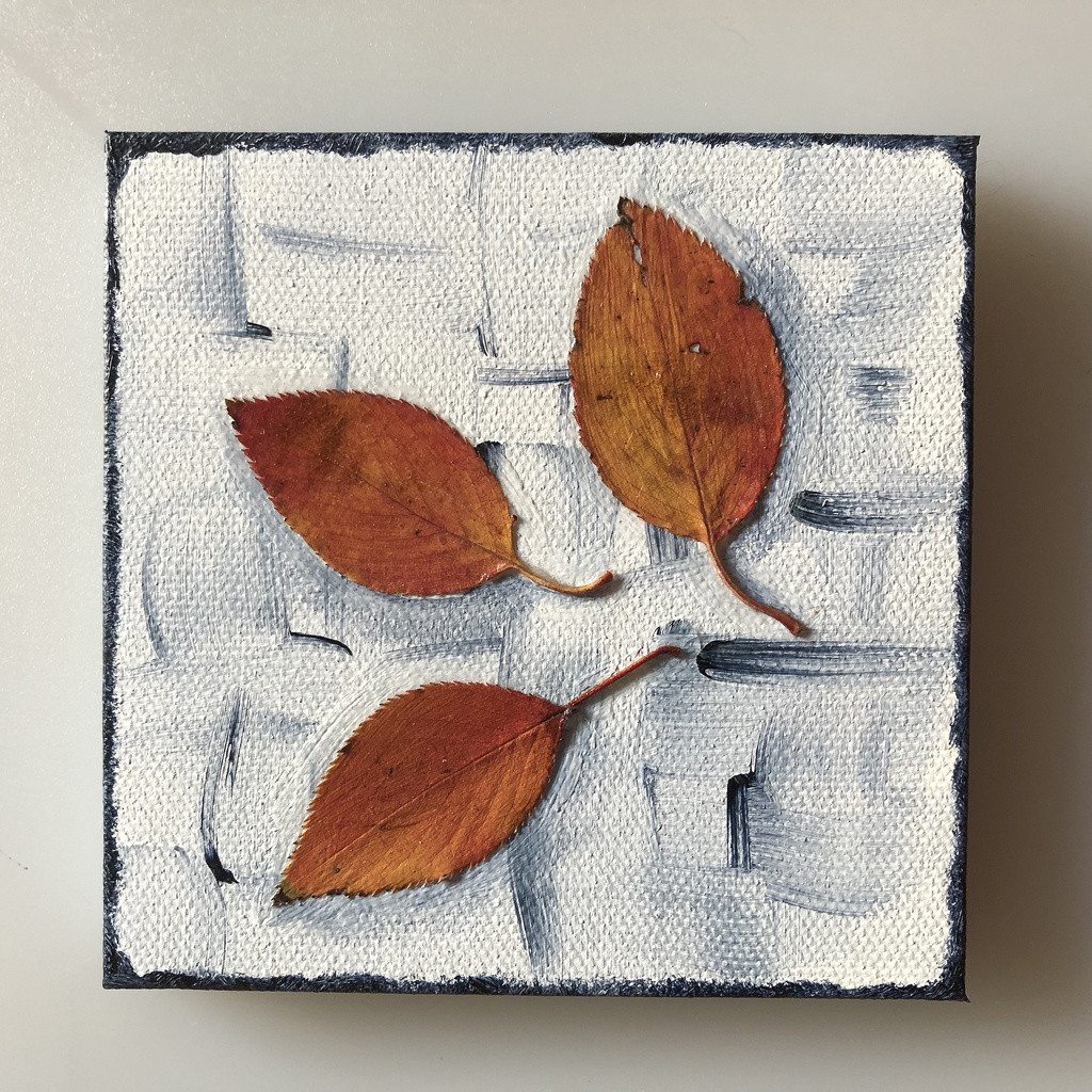 "Autumn's Rainbows No 15 (4"" x 4"" Fridge Magnet)"