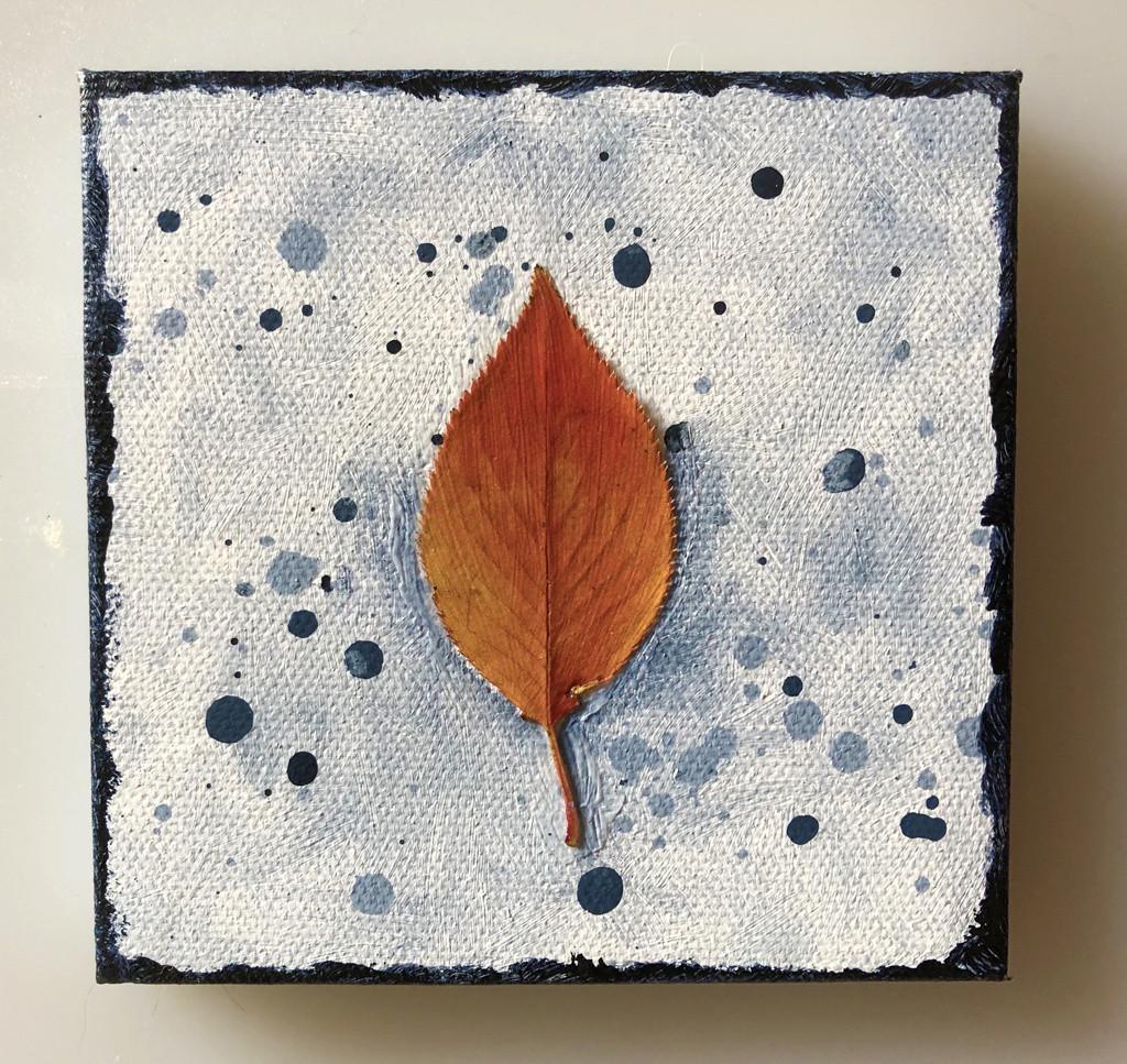 "Autumn's Rainbows No 16 (4"" x 4"" Fridge Magnet)"
