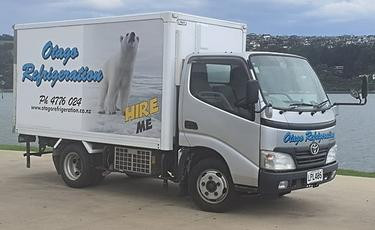 Otago refrigeration chiller truck for hire