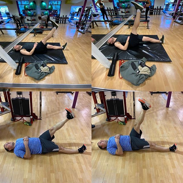 Two of my clients Cam & Andrew getting some good results from PNF stretching🙌🏼 . Proprioceptive neuromuscular facilitation is a stretching technique that focuses on elasticity and range of motion in the muscles and joints . These two were struggling with tight hamstrings and couldn't hinge from the hip efficiently 👉🏼 now they they're now on their way to improving their range with their new found flexibility. This will in turn help them perform exercises more safely and effectively . . . #pt #lesmills #workout #program #exercise #lifestlye