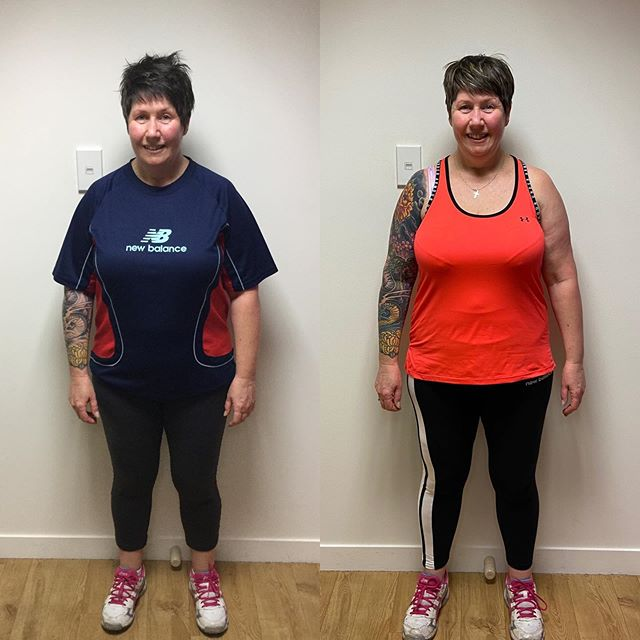 Another client who's put the work in and getting the results. The picture speaks for its self! Go Wendy 👏🏼👏🏼 . . . #pt #lesmills #workout #program #exercise #lifestyle #progress