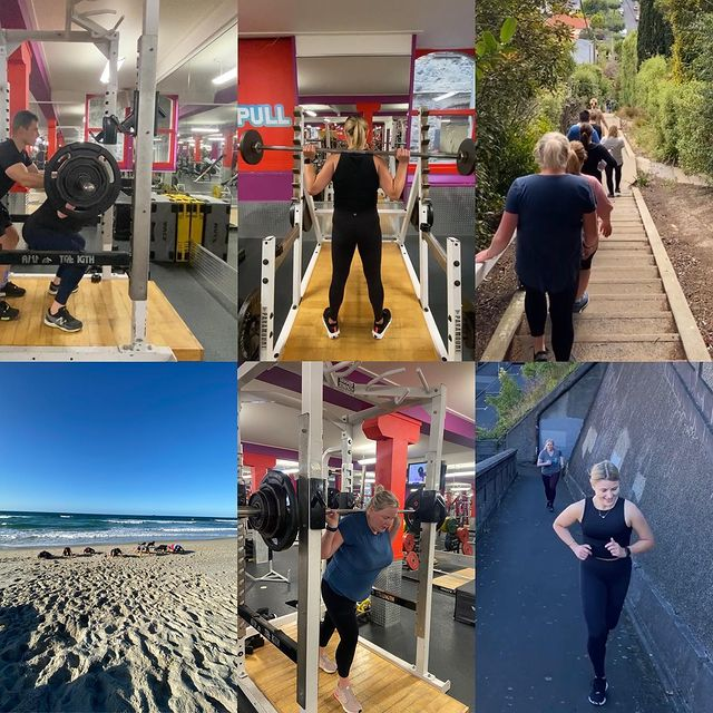 Better late than never but huge shout out to my Lifestyle Reset group! Everyone came in hot with the intensity and maintained it all the way through 💪🏼 . Even bigger shout out to Tania and Keely 👏🏼They smashed their 40 workouts in 56 days and won 2 weeks free Pt each 🤩 well done ladies!