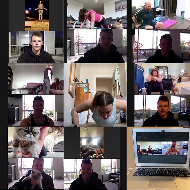 Big shoutout to those who joined Caspa and I for Zoom training last week! Keep up the good work! 🏻