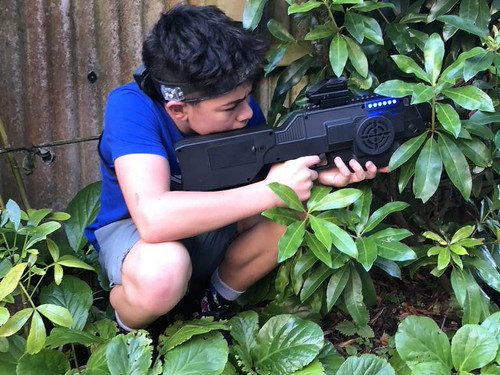 Finding a great hiding place in Battle Combat