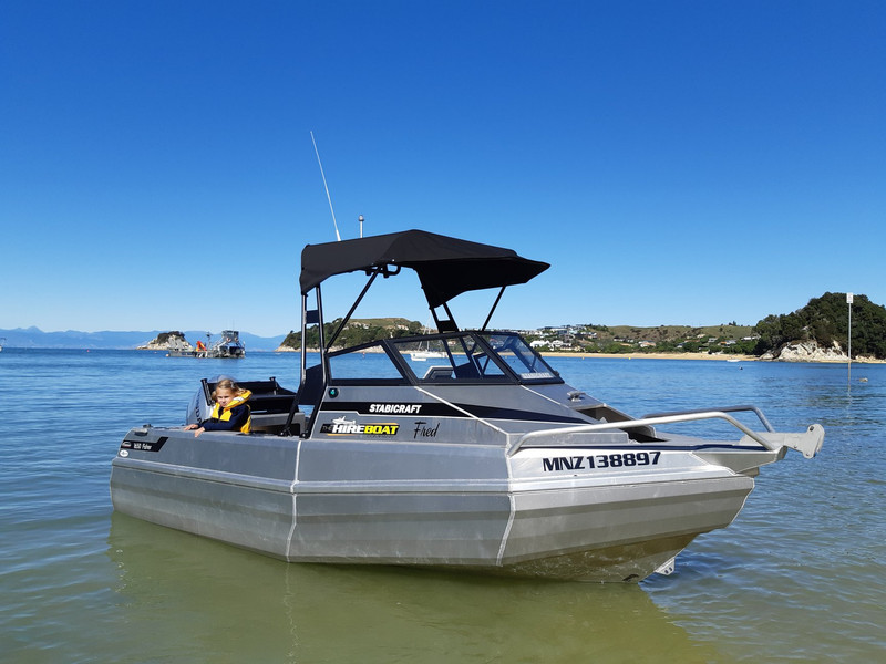 Hire a boat for a day of fun out on the water with Bays Boating