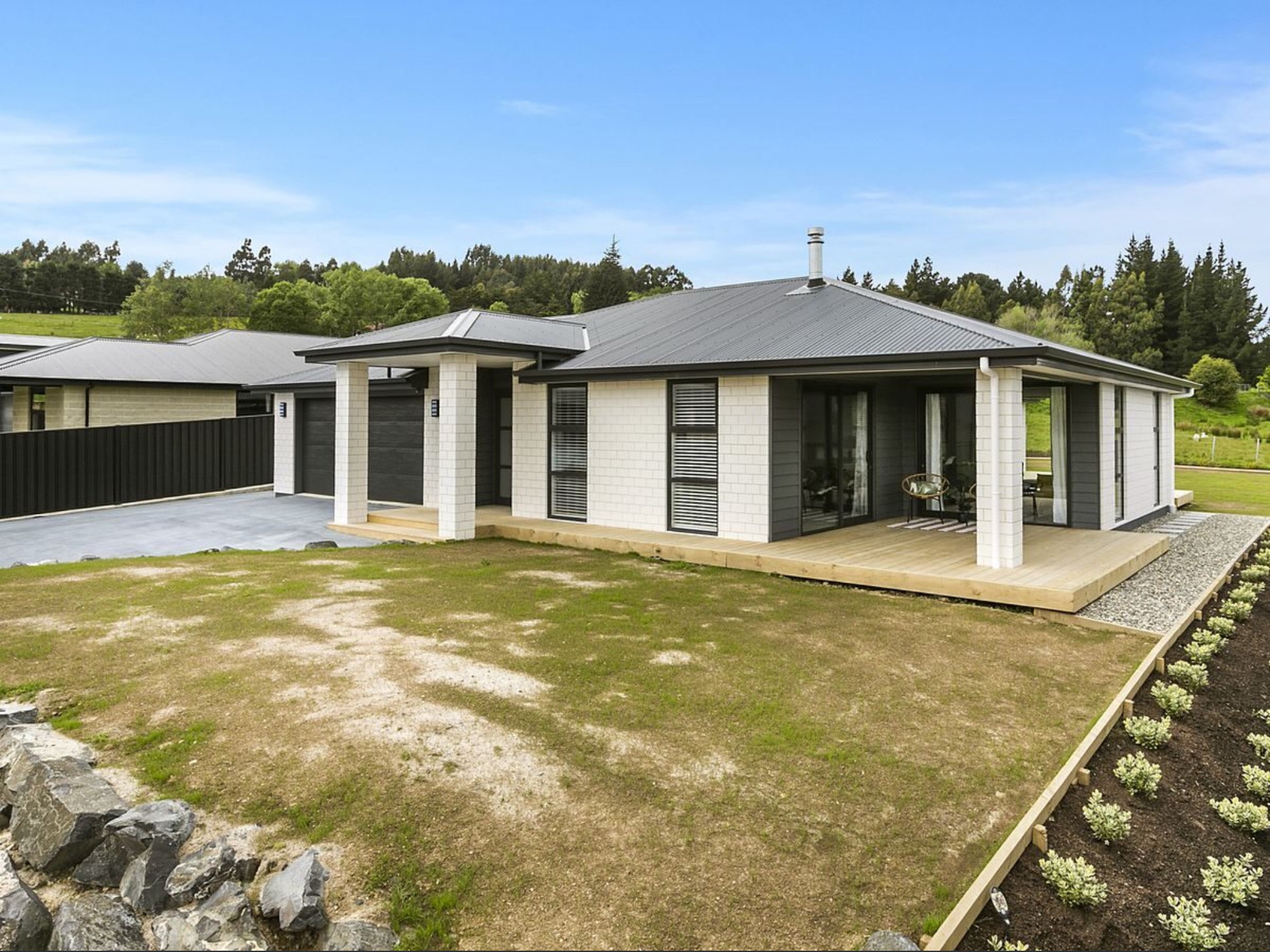 New build house completed by Eoin Kirk from Outlet Homes