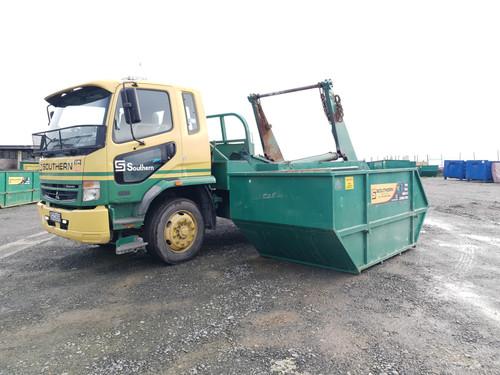 Southern Transport Gantry Skip Truck and skip bin