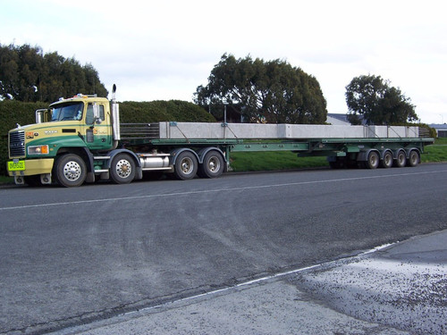 Southern Transport #24 Transporting concrete beams