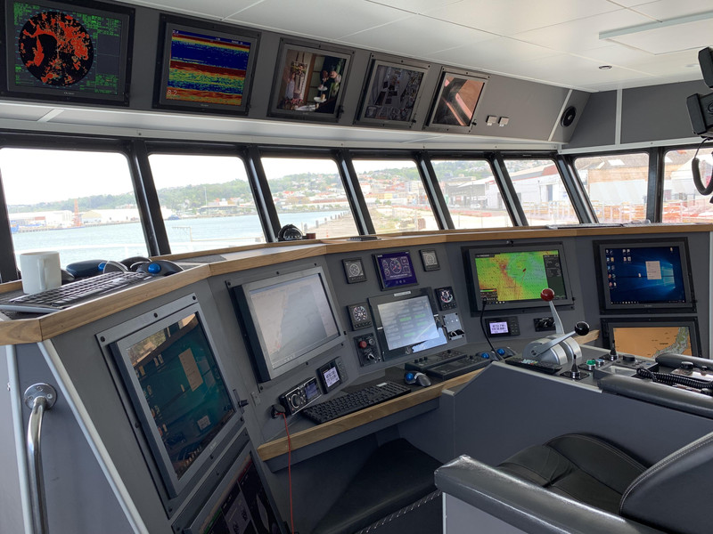 Navcom Electronics Dunedin marine electronics installation