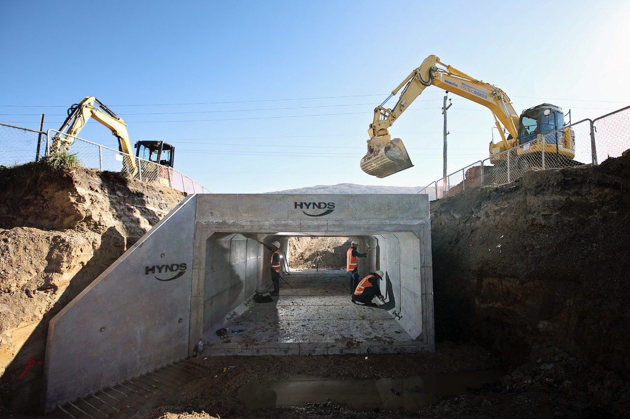SouthRoads culvert construction