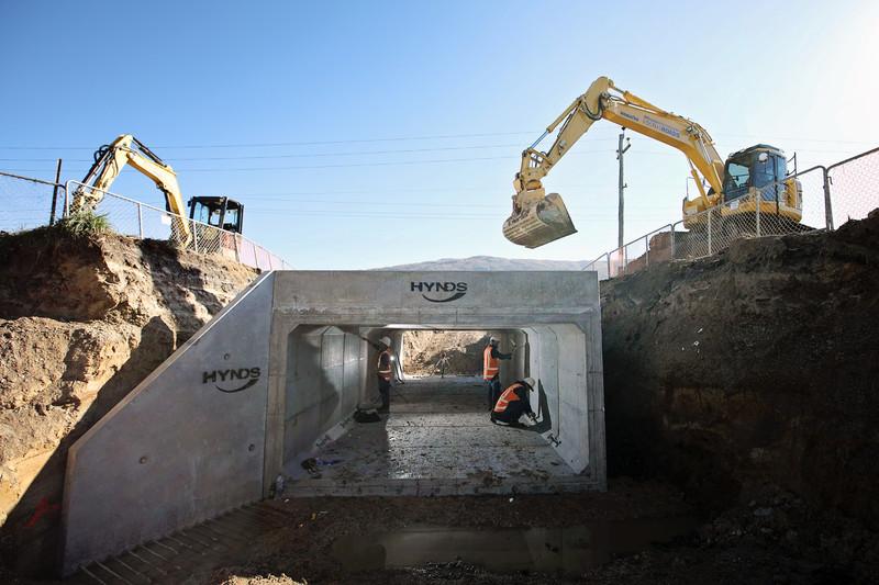 SouthRoads culvert construction