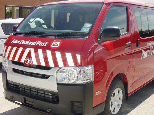 New Zealand Post vehicle signage