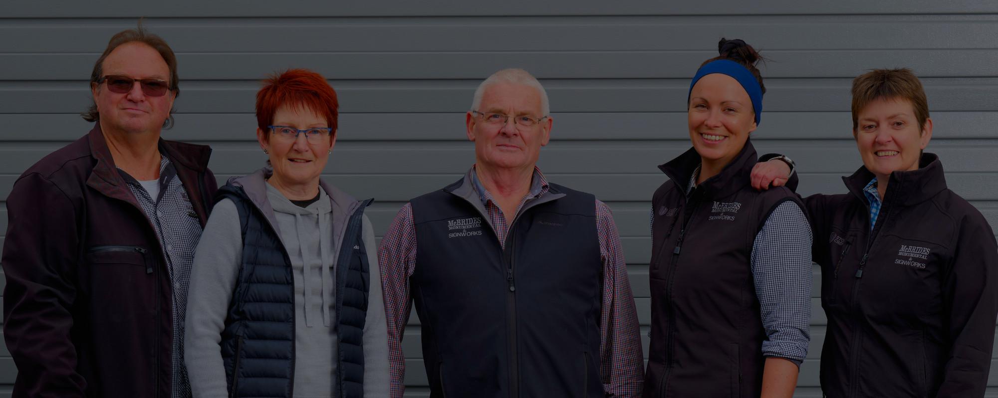 Signworks South Otago Team Photo