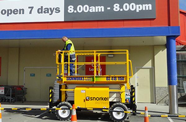 Signworks South Otago Scissor Lift Hire