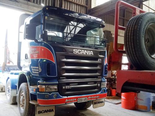 Andrew Haulage Scania graphics