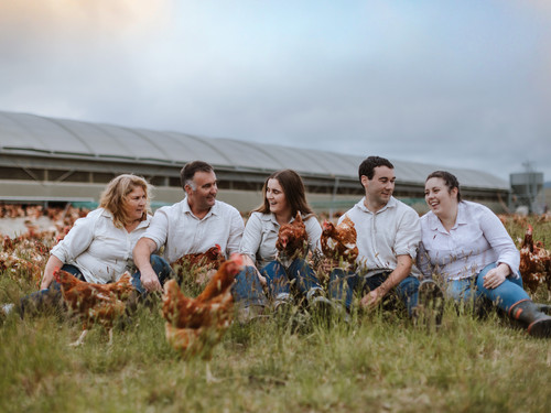 The Bowalley Free Range chicken sheds