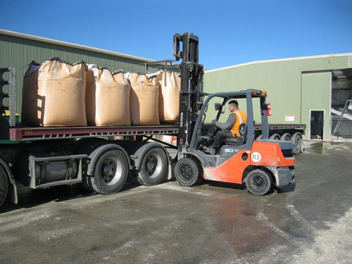 Bulk Bags being transported to port for containerisation